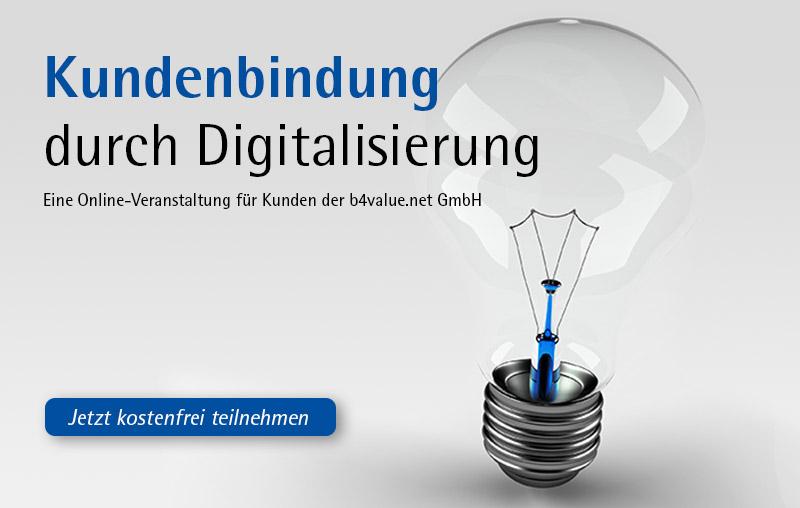 Kundenbindung durch Digitalisierung